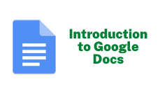 Introduction to Google Docs
