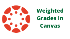 Weighted Grades in Canvas