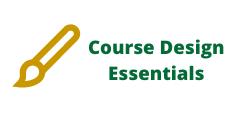 Canvas Course Design Essentials