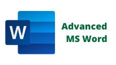 Advanced MS Word