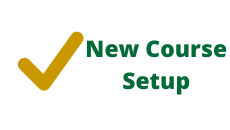 New Term Canvas Course Setup