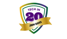 Tech in 20: Zoom Basics